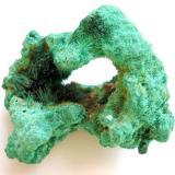 6,5 cm malachite sample from Bautenberg mine near Neunkirchen, Siegerland, Rhineland-Palatinate. (Author: Andreas Gerstenberg)