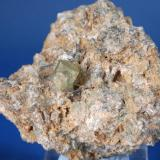 Apatito - Tizi-N-Inouzane, Imilchil, Er Rachidia, Meknès-Tafilalet, Marruecos Medidas: 6 x 6 x 4 cms (Autor: Joan Martinez Bruguera)