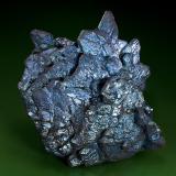 Chalcocite Flambeau Mine, Ladysmith, Rusk County, Wisconsin, USA Specimen size 5.5  x 5.5 cm. (Author: am mizunaka)