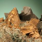 Copper possible pseudomorph after laumontite. (Author: John Jaszczak)