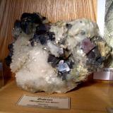 A Bulgarian galena on quartz. (Author: Tobi)