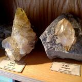 U.S. calcites from Sweetwater Mine and Elmwood Mine. (Author: Tobi)