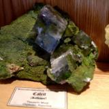 Even the new Tsumeb calcite has found its place. (Author: Tobi)