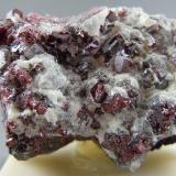Cinnabar Red Devil Mine Sleetmute, Alaska 5.2cm x 3.3cm (Author: rweaver)