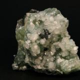 Apophyllite, 8x7 cm., Southbury, CT. (Author: vic rzonca)
