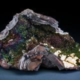Hematite Florence mine, Egremont, Cumberland, England, UK 20 cm x12 cm x14 (Author: Gail)