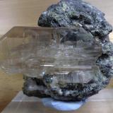 Cerussite Touissit, Oujda, Morocco  Crystal size: 7 cm. (Author: Enrique Llorens)