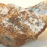 Carbonatofluorapatito  Mina Elvira - Bruguers - Gavà - Baix Llobregat - Barcelona - Catalunya - España Medidas: 110 x 65 x 45 mm (Autor: Joan Martinez Bruguera)