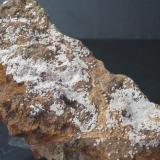 Carbonatofluorapatito Mina Elvira - Bruguers - Gavà - Baix Llobregat - Barcelona - Catalunya - España Medidas: 11,5 x 55 x 35 mm (Autor: Joan Martinez Bruguera)