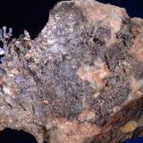 Plata<br />Corta Santa Matilde, Grupo minero Berja, Las Herrerías, Sierra Almagrera, Cuevas del Almanzora, Comarca Levante Almeriense, Almería, Andalucía, España<br />7,5x5 cm.<br /> (Autor: Juan Luis Castanedo)