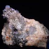 Plata<br />Corta Santa Matilde, Grupo minero Berja, Las Herrerías, Sierra Almagrera, Cuevas del Almanzora, Comarca Levante Almeriense, Almería, Andalucía, España<br />6,2x4 cm.<br /> (Autor: Juan Luis Castanedo)