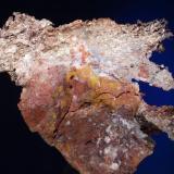 Plata<br />Corta Santa Matilde, Grupo minero Berja, Las Herrerías, Sierra Almagrera, Cuevas del Almanzora, Comarca Levante Almeriense, Almería, Andalucía, España<br />7,5x7,2 cm.<br /> (Autor: Juan Luis Castanedo)