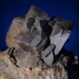 Siderita<br />Sierra Almagrera, Cuevas del Almanzora, Comarca Levante Almeriense, Almería, Andalucía, España<br />10x9,5 cm<br /> (Autor: Juan Luis Castanedo)