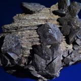 Siderita<br />Sierra Almagrera, Cuevas del Almanzora, Comarca Levante Almeriense, Almería, Andalucía, España<br />10,4x6,5 cm. Cristal mayor 2 cm.<br /> (Autor: Juan Luis Castanedo)