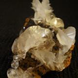Very nice 8 cm calcite, Ojuela Mine, Mexico. (Author: Darren)