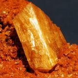 Adamite Mapimi, México crystal 2,3 cm. (Author: Enrique Llorens)