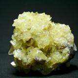 Barita Mina Moscona - Solís - Corvera - Asturias Pieza de 10x10 cm. cristal mayor 2 cm. (Autor: El Coleccionista)