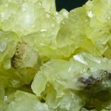 Barita Mina Moscona - Solís - Corvera - Asturias Pieza de 10x10 cm. cristal mayor 2 cm. Detalle de la pieza anterior (Autor: El Coleccionista)