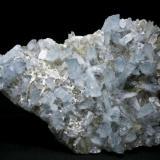 Celestina Cantera Minerama - Cerro Moreno - Puentetablas - Jaén Pieza de 21x16 cm. cristal mayor 4,5 cm. (Autor: El Coleccionista)
