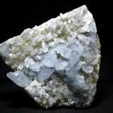 Celestina Cantera Minerama - Cerro Moreno - Puente Tablas - Jaén Pieza de 18x18 cm. cristal mayor 4 cm. (Autor: El Coleccionista)