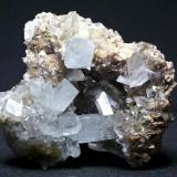 Celestina Cantera Minerama - Cerro Moreno - Puente Tablas - Jaén Pieza de 8x8 cm. cristal mayor 3 cm. (Autor: El Coleccionista)