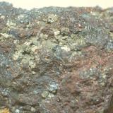 Pirita, Magnetita & Hematites (detalle) Terra Nera - Porto Azzurro - Isola d'Elba - Livorno Province - Tuscany - Italia 70 x 70 x 45 mm (Autor: Joan Martinez Bruguera)