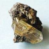 Anglesita Touissit, Oujda, Marruecos Cristal 2,5 cm. (Autor: E. Llorens)