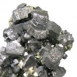 Bournonite, pyrite Mina Mercedes, Huallanca, Dos de Mayo, Huánuco, Peru 78 mm × 44 mm × 20 mm (Author: Carles Millan)