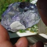 Fluorite Naica, Municipio de Saucillo, Chihuahua, Mexico 7x5x3 cm. Found in 1985 (Author: Jean louis lebret)