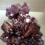 Vanadinite Mibladen, Morocco 11x6 cm. (Author: Enrique Llorens)