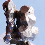 Acanthite Guanajuato, Mexico 4x4 cm. (Author: Enrique Llorens)
