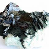 Malachite first generation crystals Mashamba West Mine, Kolwezi, Katanga, R.D. Congo 11x6 cm (Author: Enrique Llorens)