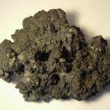 Acantita. Imiter Mine, Boumaine-Dadès, Ouarzazate, Souss-Massa-Drâa (Marruecos)  12x8x3 cm.  560 gramos. Detalle de la pieza anterior. (Autor: Joaquin Montoro)