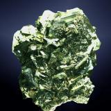 Marcasita Litmice, Karlovy Vary (dist), Karlovarský (región), República Checa. Agregado irregular de cristales maclados (ejemplar de 1976). 5,1 x 4,5 x 3,7 cm. / cristal pral.: 2,0 x 2,3 x 0,5 cm. (Autor: Carles Curto)