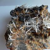 Cerusita Flux Mine, Patagonia mts, Arizona, USA 10 x 10 (Autor: javier ruiz martin)