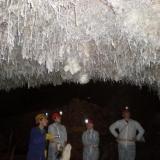 Aragonitos  Cueva El Soplao, Cantabria, España (Autor: PabloR)