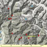 _Situación de Chamachhu (las marcas de color rojo indican la posición de yacimientos minerales interesantes) (Autor: Carles Millan)