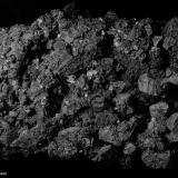 Acantita.  Imiter. Antiatlas. Marruecos.  7.3x4.5 cm. Cristal mayor 0.7 cm. (Autor: Juan Luis Castanedo)