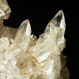 Glauberita Minas del Consuelo, Chinchón, Comunidad de Madrid, España 7x4,5x5 cm. Detalle cristales foto anterior. Col. y foto Nacho Gaspar. (Autor: Nacho)