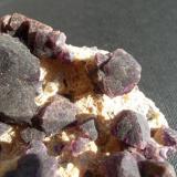 Fluorita Catron Co., Nuevo Mexico, USA  Detalle de la pieza anterior (Autor: javier ruiz martin)