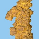Goethita (limonita) pseudomórfica de pirita Fossa Comuna, Montjuïc, Barcelona 76 mm x 37 mm (Autor: Carles Millan)
