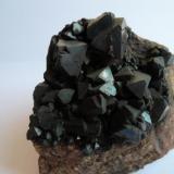 Magnetita Eifel, Rhineland-Palatinate, Alemania 6 x 6 cm. (Autor: javier ruiz martin)