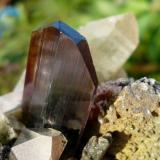 Brookita Kharan Mt.,Baluchistan, Pakistán. Cristal: 3x2 cm (Autor: nerofis2)
