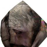 Cuarzo Cetro Amatista y Ahumado  Montañas Gobobos, Namibia 6,5x4x3,3 cm (Autor: Jmiguel)
