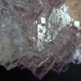Fluorita Melchor Múzquiz, Municipio de Melchor Múzquiz, Coahuila, México  Otro detalle más de la pieza anterior (Autor: javier ruiz martin)