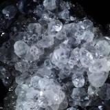 Calcita.  Mina Herculano. El Puntal. Atamaría. Sierra Minera de Cartagena-La Unión. Cartagena. España 14x12 cm. Cristal mayor 1.8 cm (Autor: Juan Luis Castanedo)