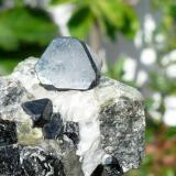 Espinela Mina Parker, Notre Dame du Laus, Quebec, Canadá Cristal: 1,2x1 cm (Autor: nerofis2)