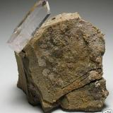 Barita Book Cliffs,  Colorado, USA 5,8 cm X 6,8 cm, cristal de 3,8 cm (Autor: Francisco Javier Ortiz)