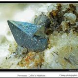 Anatase Col de la Madeleine, Savoie, France fov 3,5 mm (Author: ploum)