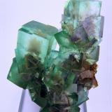 Fluorite Xianghuapu Mine, Xianghualing, Linwu, Chenzhou, Hunan, China 113 mm x 80 mm x 52 mm (Author: Carles Millan)